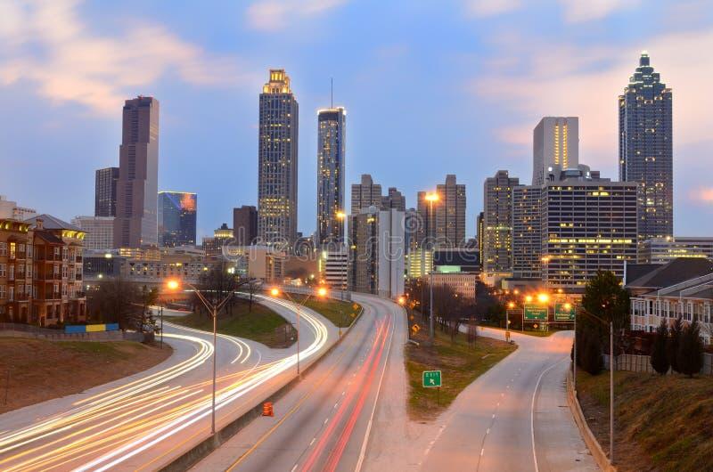 Download Atlanta Skyline Stock Photography - Image: 18487162