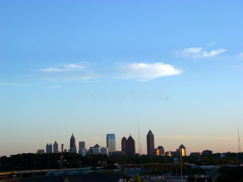 Atlanta Skyline 2 stock image