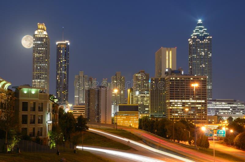 Atlanta Skyline royalty free stock images