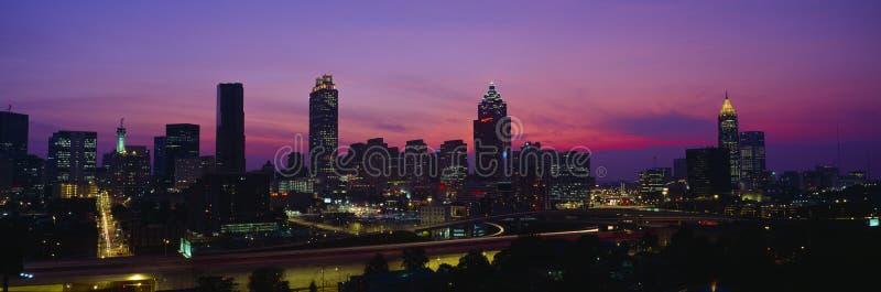 Atlanta Skyline stock photos