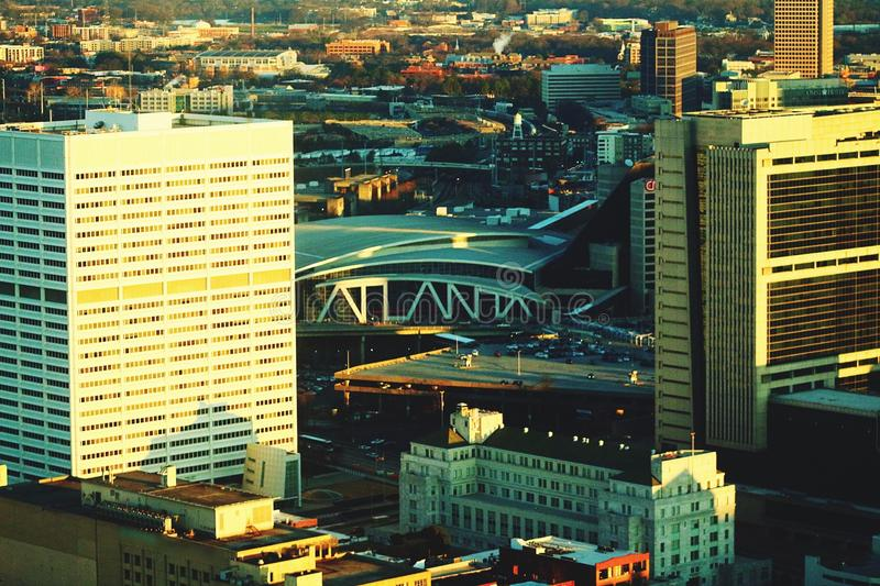 Atlanta structured. Atlanta& x27;s iconic southern Buildings stock photography