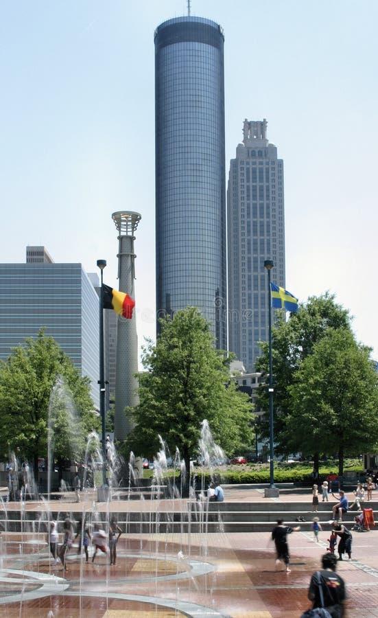 Atlanta urbana imagens de stock royalty free