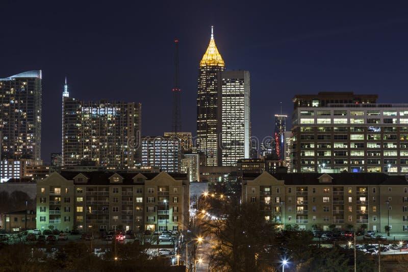 Atlanta van de binnenstad stock foto
