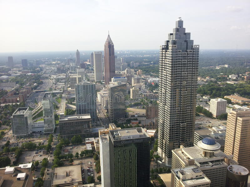Atlanta widok fotografia royalty free