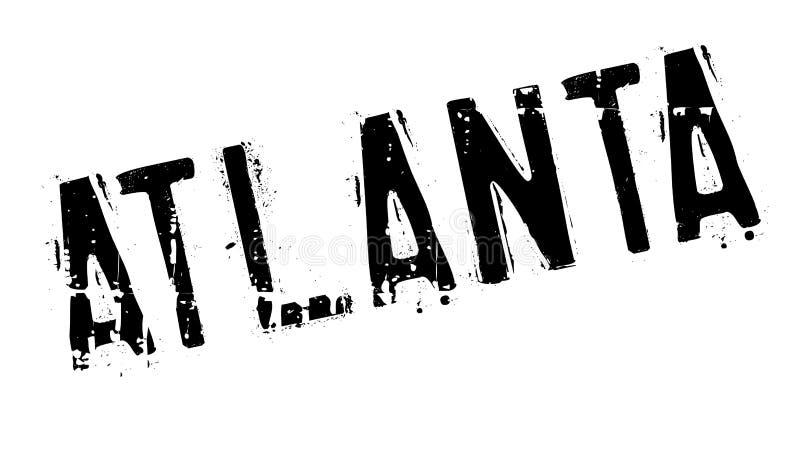 Atlanta znaczka gumy grunge royalty ilustracja