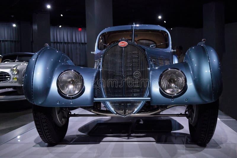 Atlanten 1936 för Bugatti typ 57SC royaltyfri bild