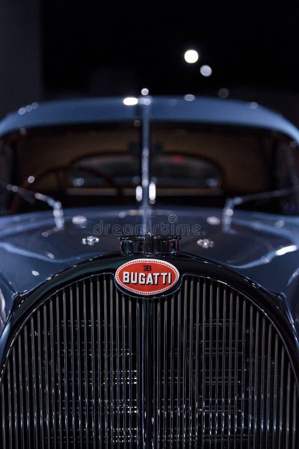 Atlanten 1936 för Bugatti typ 57SC royaltyfria bilder