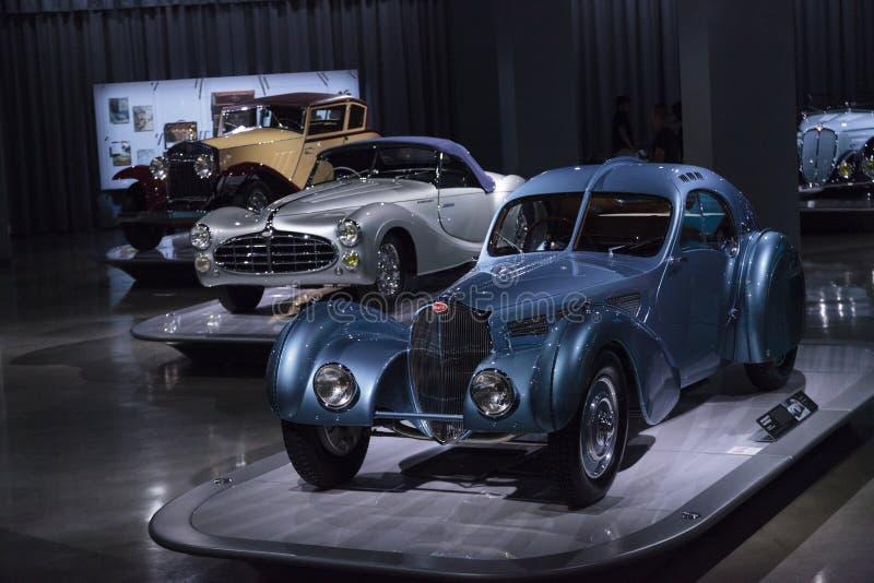 Atlanten 1936 för Bugatti typ 57SC royaltyfria foton