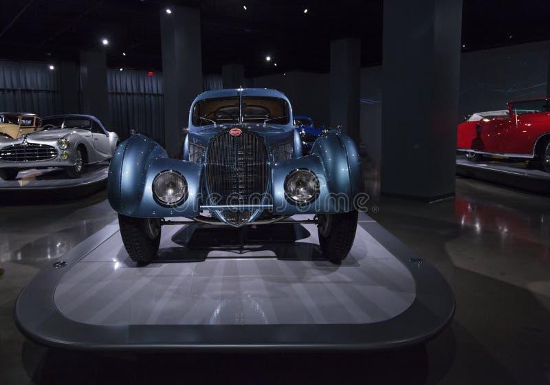 Atlanten 1936 för Bugatti typ 57SC royaltyfri foto