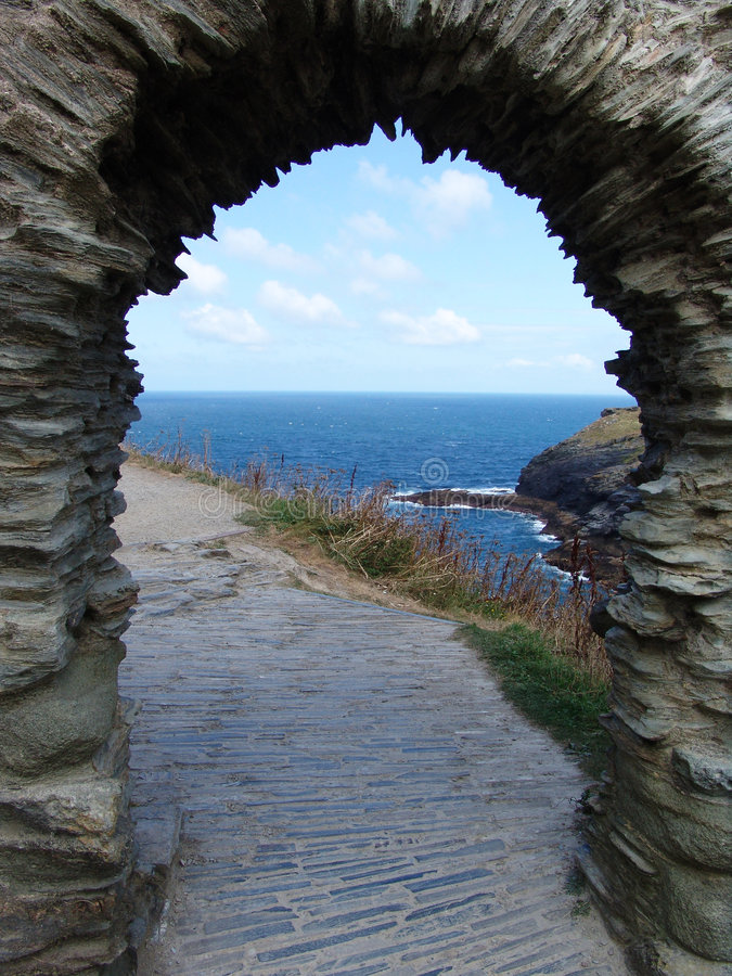 Download Atlantic archway stock photo. Image of ancient, pathway - 1162772