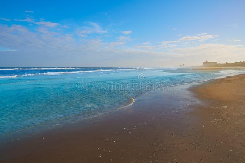 Atlantic Beach in Jacksonville of florida USA. Atlantic Beach in Jacksonville East of Florida USA US stock image