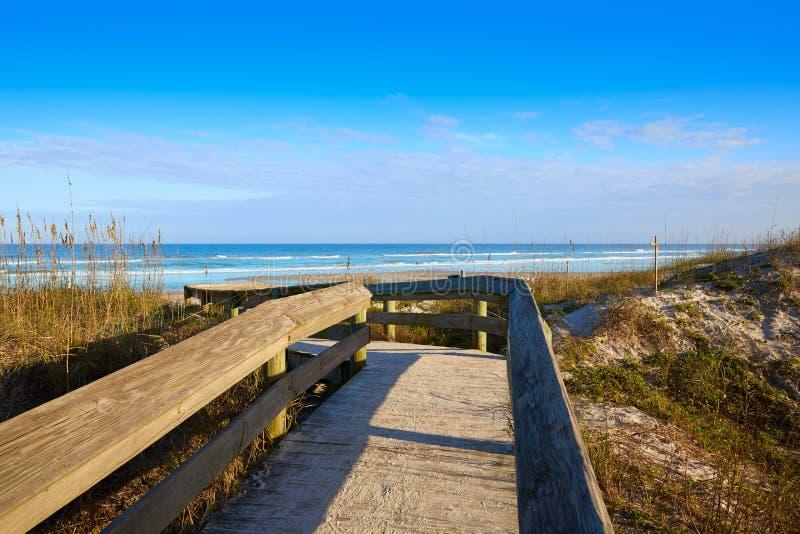 Atlantic Beach in Jacksonville of florida USA. Atlantic Beach in Jacksonville East of Florida USA US royalty free stock photography