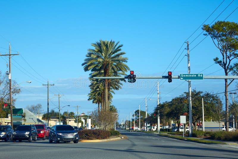 Atlantic Beach in Jacksonville of florida USA stock photo