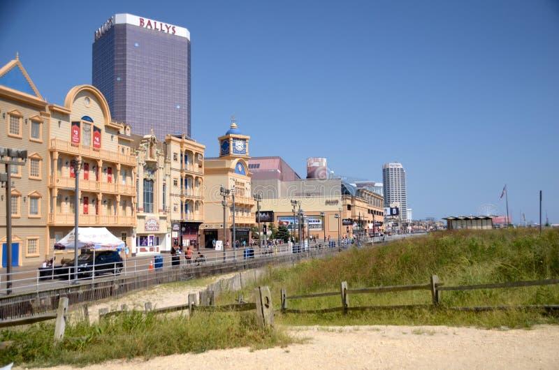 Atlantic City stock afbeelding