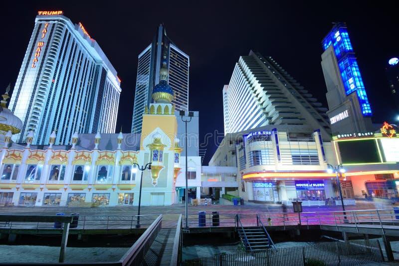 Atlantic City stock foto