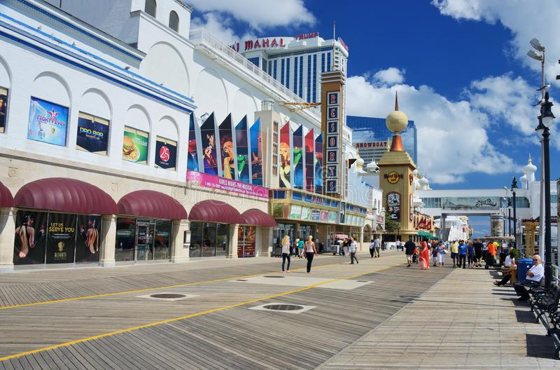 Atlantic City stock foto