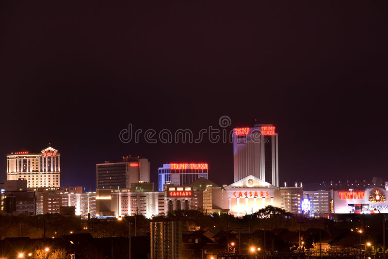Atlantic City arkivfoton