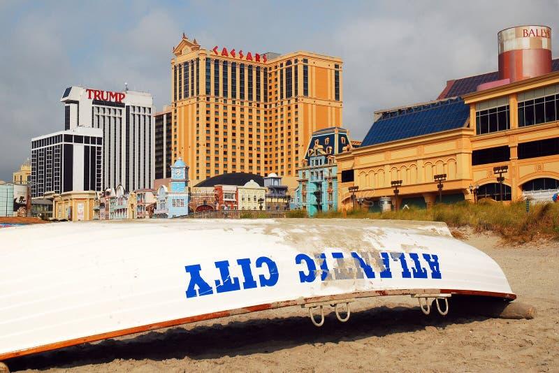 Atlantic City foto de stock