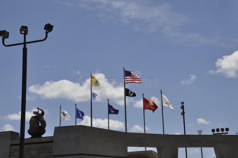 Atlantic City, am 4. August: Koreakrieg-Denkmal von Atlantic City in New-Jersey lizenzfreie stockfotos