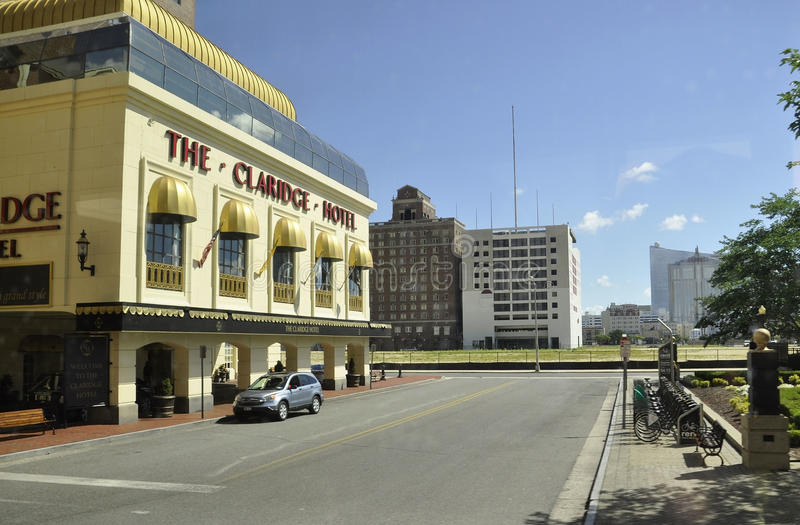 Atlantic City,August 4th:Casinos and Hotels from Atlantic City in New Jersey stock photography