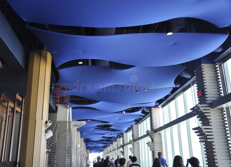Atlantic City,August 4th:Modern Mall Interior from Atlantic City Resort in New Jersey. Modern Mall Interior from Atlantic City Resort in New Jersey on august 4th royalty free stock image