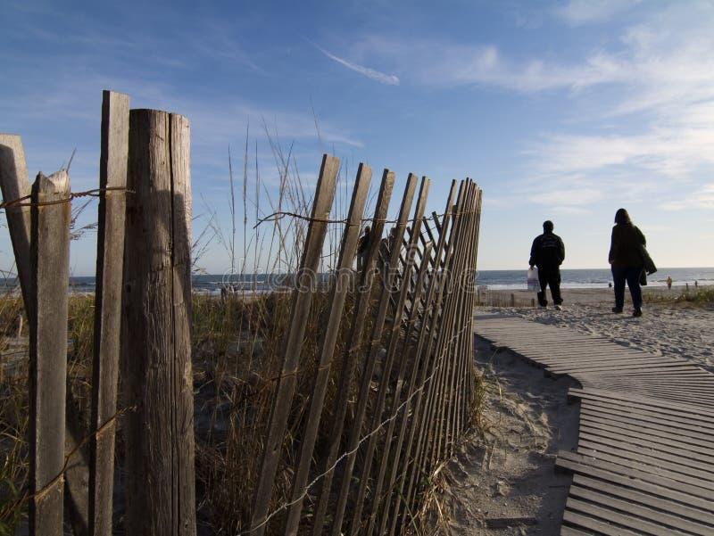 Atlantic City Boardwalk royalty free stock photography