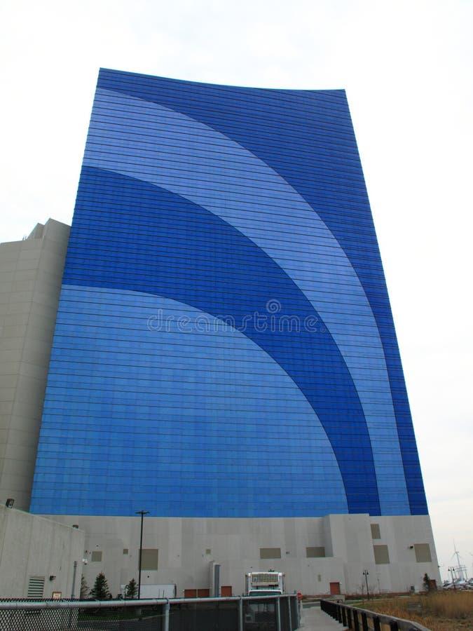 Atlantic City - hotel e casino de Harrah fotos de stock