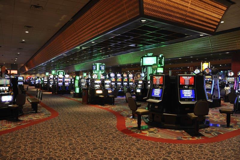 Atlantic City, il 4 agosto: Vista interna del casinò dalla località di soggiorno di Atlantic City nel New Jersey immagini stock libere da diritti