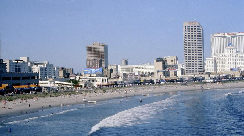 Atlantic City New Jersey stock fotografie