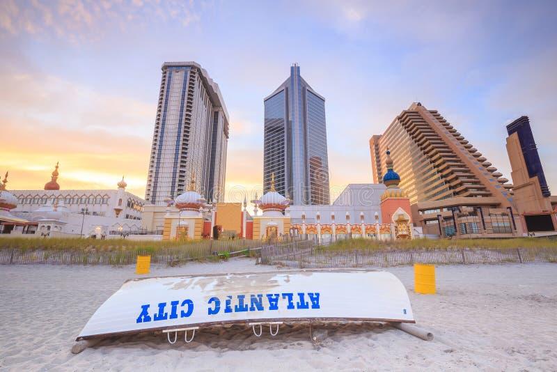 Atlantic City, New-Jersey lizenzfreie stockbilder