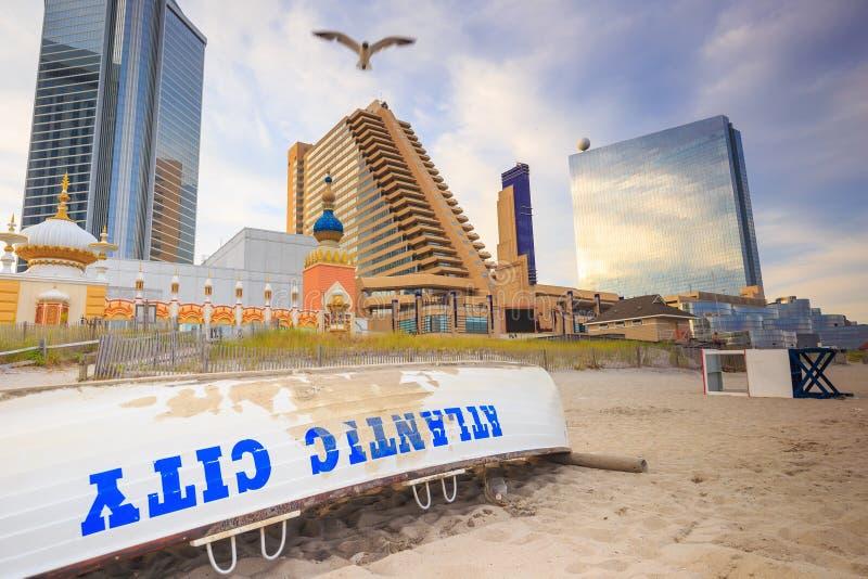 Atlantic City, New-Jersey lizenzfreie stockfotos