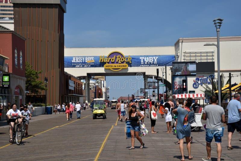 Atlantic City royalty-vrije stock afbeelding