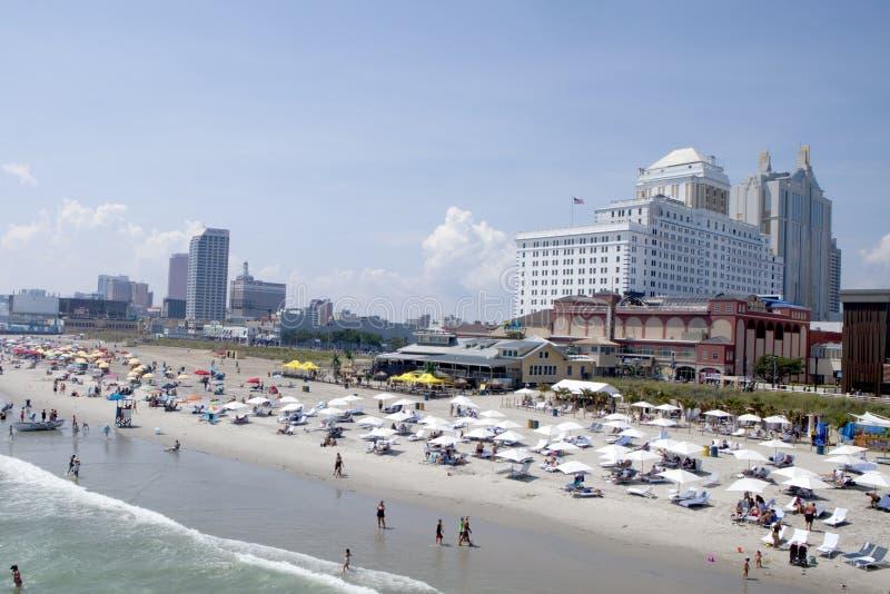 Atlantic City, New-jersey - férias de verão imagem de stock royalty free