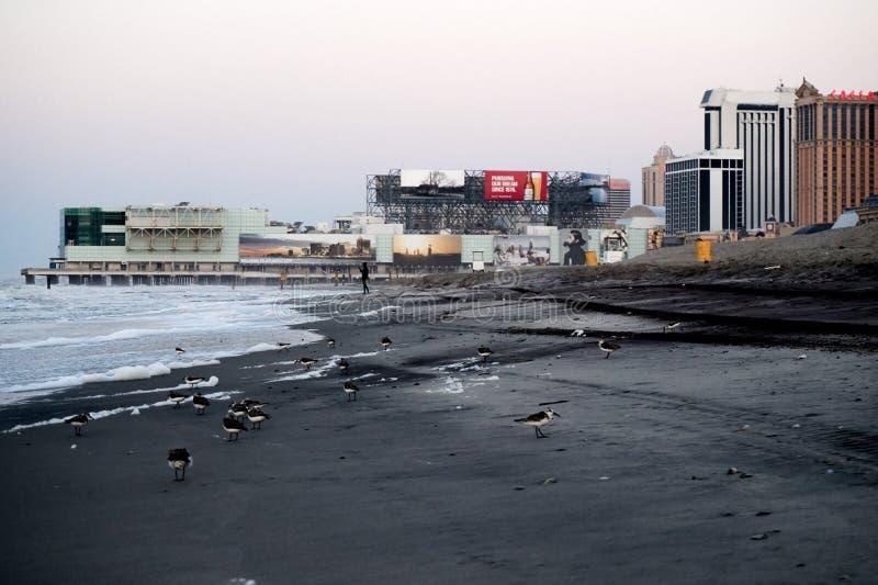 Atlantic City, NJ, de V.S. royalty-vrije stock foto