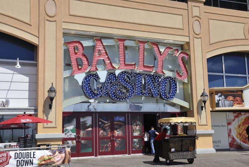 Atlantic City, o 4 de agosto: Fachada do casino do recurso de Atlantic City em New-jersey foto de stock