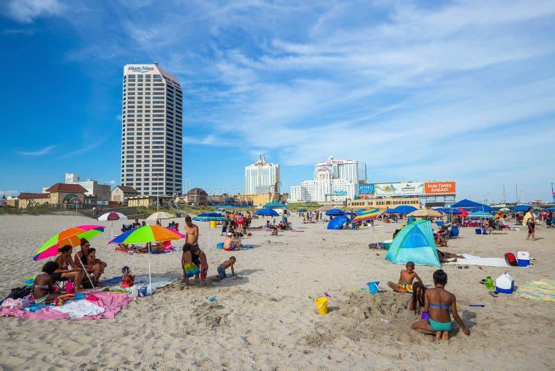 Atlantic City som är nytt - ärmlös tröja royaltyfria foton