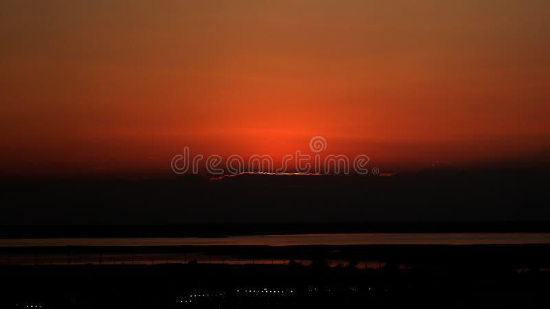 Atlantic City Sunset stock photos