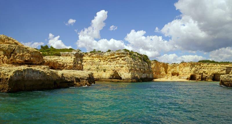 Atlantic coast. Beautiful Atlantic coast in Portugal royalty free stock images