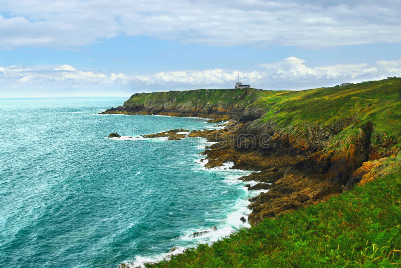 Download Atlantic coast in Brittany stock photo. Image of cliff - 3580980