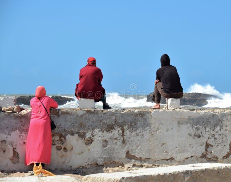 Atlantic Human sea and yearning royalty free stock photos