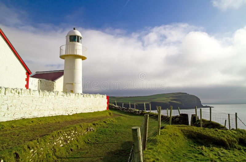 Download Atlantic Lighthouse In Dingle Stock Image - Image: 18067281