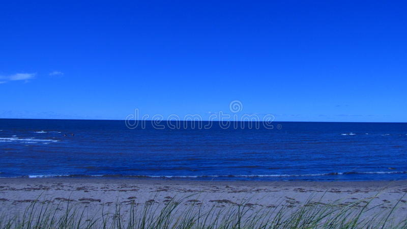 Atlantic Ocean off the Coast of Canada royalty free stock images