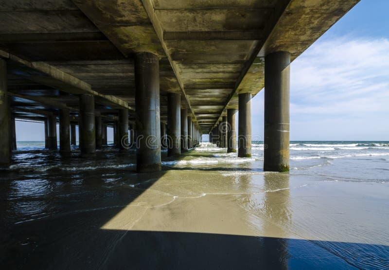 Atlantic Ocean Pier royalty free stock photography