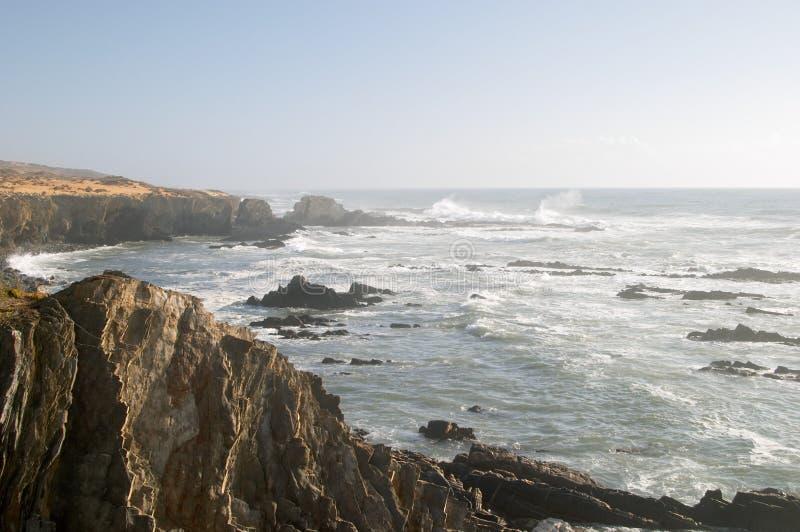 Atlantic ocean reef coast royalty free stock photo