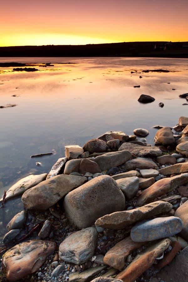 Download Atlantic Ocean Scenery At Sunset Stock Photo - Image: 24920830