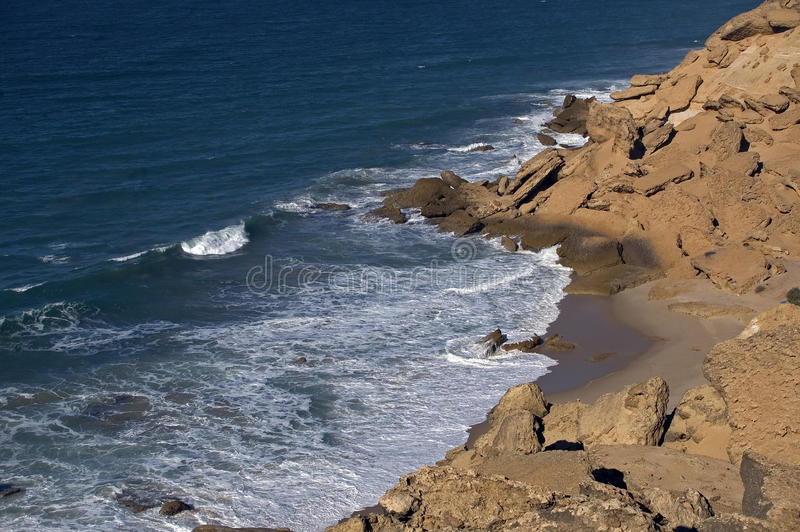 Atlantic-ocean, Western Sahara stock images
