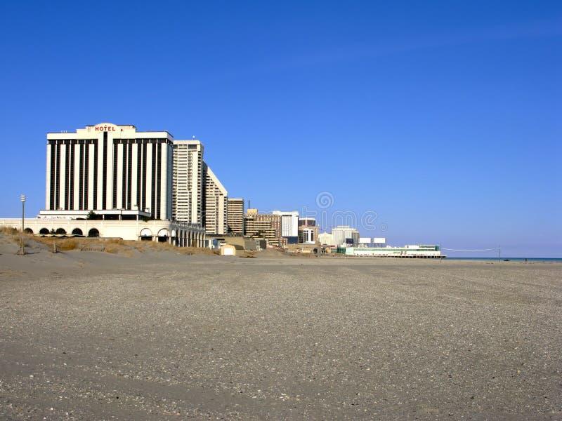 atlantic plażowy kasyn miasta hoteli/lów bydło nowy obraz stock