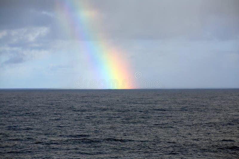 Atlantic rainbow royalty free stock photo