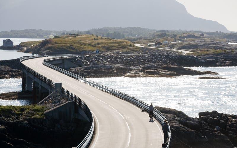 Atlantic Road, Norway royalty free stock photos