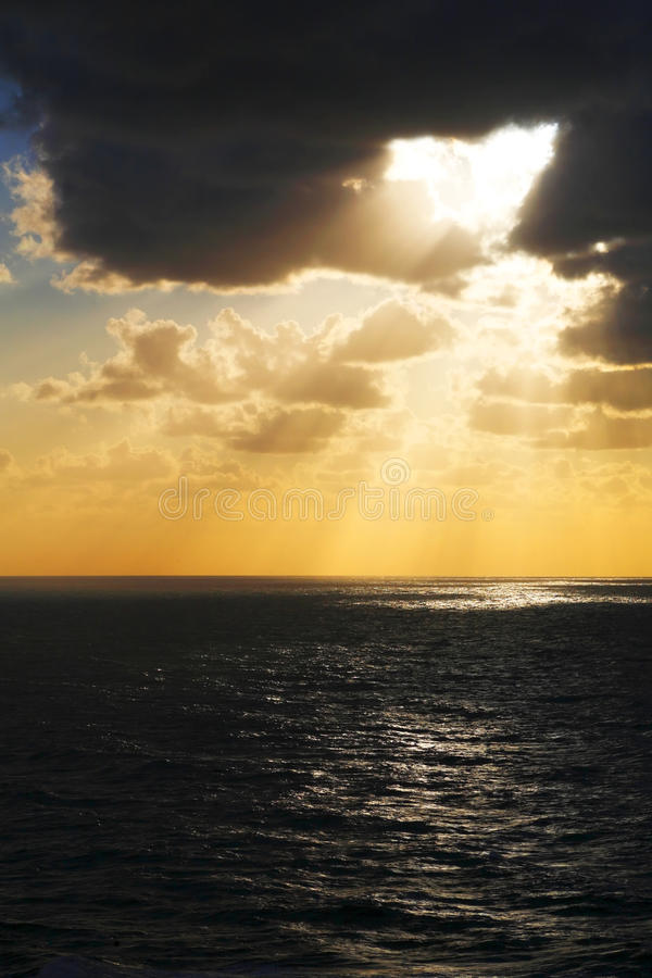 Download Atlantic sunset stock image. Image of dream, silence - 10850537